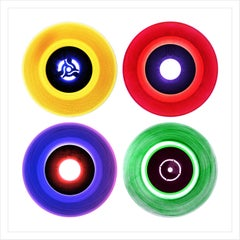 """Vinyl Collection, 12"""" B Side Compilation - Pop Art Color Photography"""