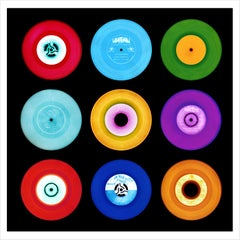 "Vinyl Collection, 7"" A Side Compilation - Pop Art Color Photography"