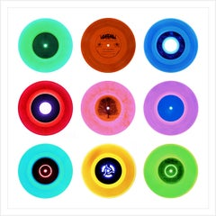 """Vinyl Collection, 7"""" B Side Compilation - Pop Art Color Photography"""
