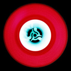 Vinyl Collection, A (Cherry Red) - Conceptual, Pop Art, Color Photography