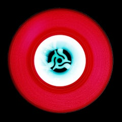 Vinyl Collection, A (Cherry Red) - Conceptual Pop Art Color Photography