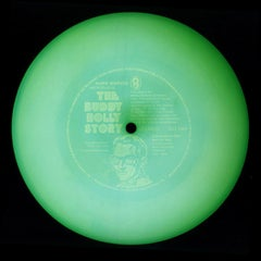 Vinyl Collection, Audition Disc - Green, Conceptual, Pop Art Color Photography