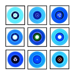 Vinyl Collection B Side Blues Installation - Pop Art Color Photography