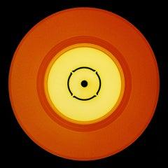Vinyl Collection, Double B Side (Orange) - Conceptual Pop Art Color Photography