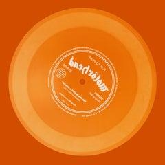 Vinyl Collection, Flip to Play (Orange) - Conceptual, Pop Art, Color Photography
