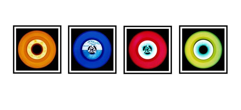 Vinyl Collection Four Piece Installation - Pop Art Color Photography For Sale 1