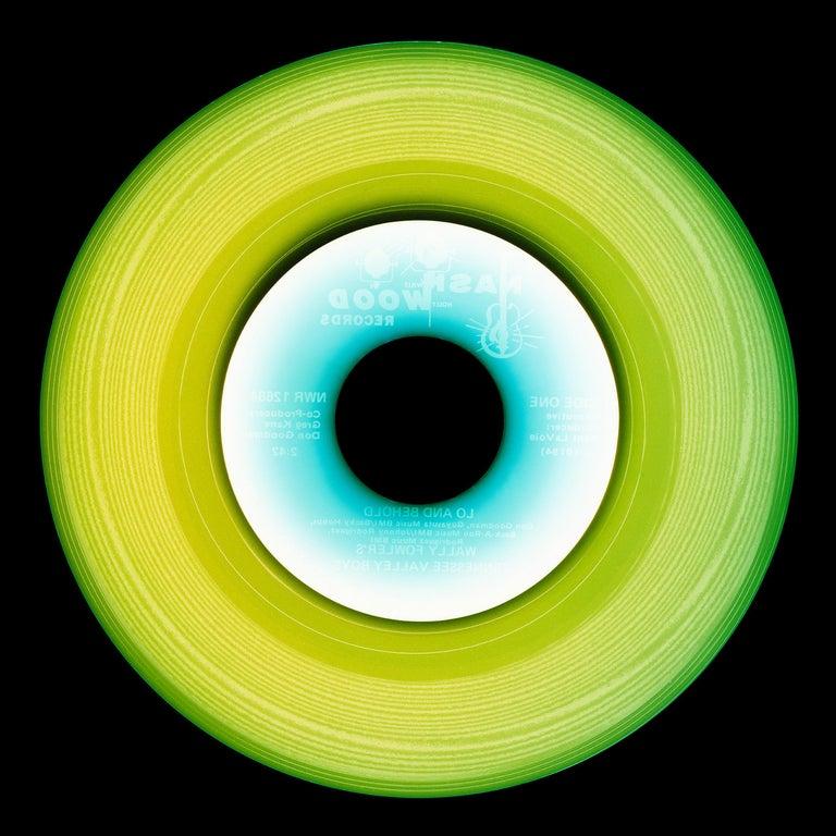 Vinyl Collection Four Piece Installation - Pop Art Color Photography For Sale 2