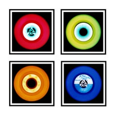 Vinyl Collection Four Piece Installation - Pop Art Color Photography