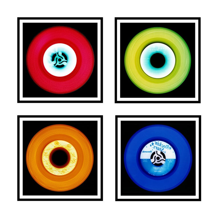 Acclaimed contemporary photographers, Richard Heeps and Natasha Heidler have collaborated to make this beautifully mesmerising collection. A celebration of the vinyl record and analogue technology, which reflects the artists practice within