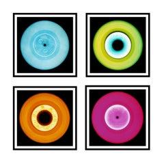 Vinyl Collection Four Piece Installation - Pop Art Color Photography