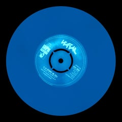 Vinyl Collection, Made in England - Blue, Conceptual, Pop Art Color Photography