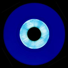 Vinyl Collection, Made in Holland (Blue) - Conceptual Pop-Art, Color Photography
