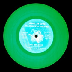Vinyl Collection, Made in the USA - Green Conceptual Pop Art Color Photography