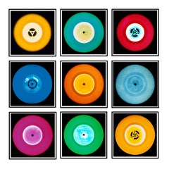"Vinyl Collection Nine Piece ""Amsterdam"" Installation - Pop Art Color Photography"