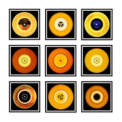 Vinyl Collection, Nine Piece And it was all Yellow Installation - Pop Art