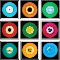 "Vinyl Collection, Nine Piece ""Brussels"" Installation - Pop Art Color Photography"