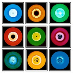 Vinyl Collection, Nine Piece Brussels Installation - Pop Art Color Photography