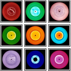 "Vinyl Collection Nine Piece ""London"" Installation - Pop Art Color Photo"