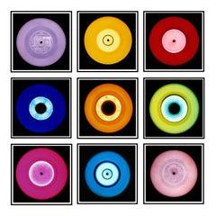 "Vinyl Collection, Nine Piece ""Milan"" Installation - Pop Art Color Photography"