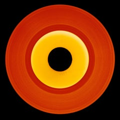 Vinyl Collection, Orange Recording - Conceptual, Pop Art, Color Photography