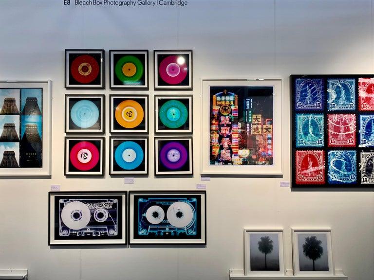 Vinyl Collection, Press Conference - Purple, Conceptual, Pop Art, Photography For Sale 1
