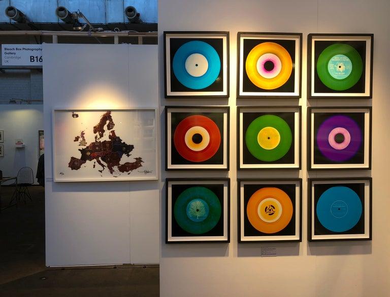 Vinyl Collection, Press Conference - Purple, Conceptual, Pop Art, Photography For Sale 2