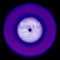 Vinyl Collection, Press Conference - Purple, Conceptual, Pop Art, Photography