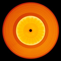 Vinyl Collection, Printed in the United States - Orange, Pop Art Photography