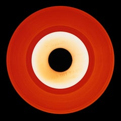 Vinyl Collection, Red Recording - Conceptual, Pop Art, Color Photography