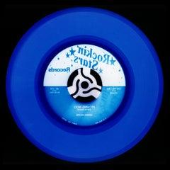 Vinyl Collection, Rock 'n' Roll (Denim) - Blue Conceptual Color Photography