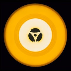 Vinyl Collection, Seventies Yellow - Conceptual, Pop Art Color Photography