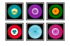 Vinyl Collection Six Piece Installation - Pop Art Color Photography