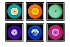 Vinyl Collection Six Piece Installation - Pop Art Color Photography