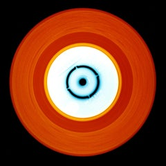 Vinyl Collection, Stereo - Red Orange, Conceptual, Pop Art, Color Photography