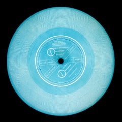 Vinyl Collection, This is a Free Record (Blue) - Conceptual Pop Art Photography