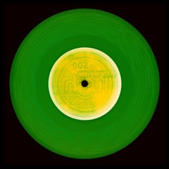 Vinyl Collection, This Side (Forest Green) - Conceptual Pop Art Photography