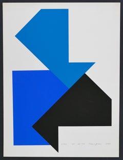 OF 64-03 - Original Screen Print by Heijo Hangen - 1972