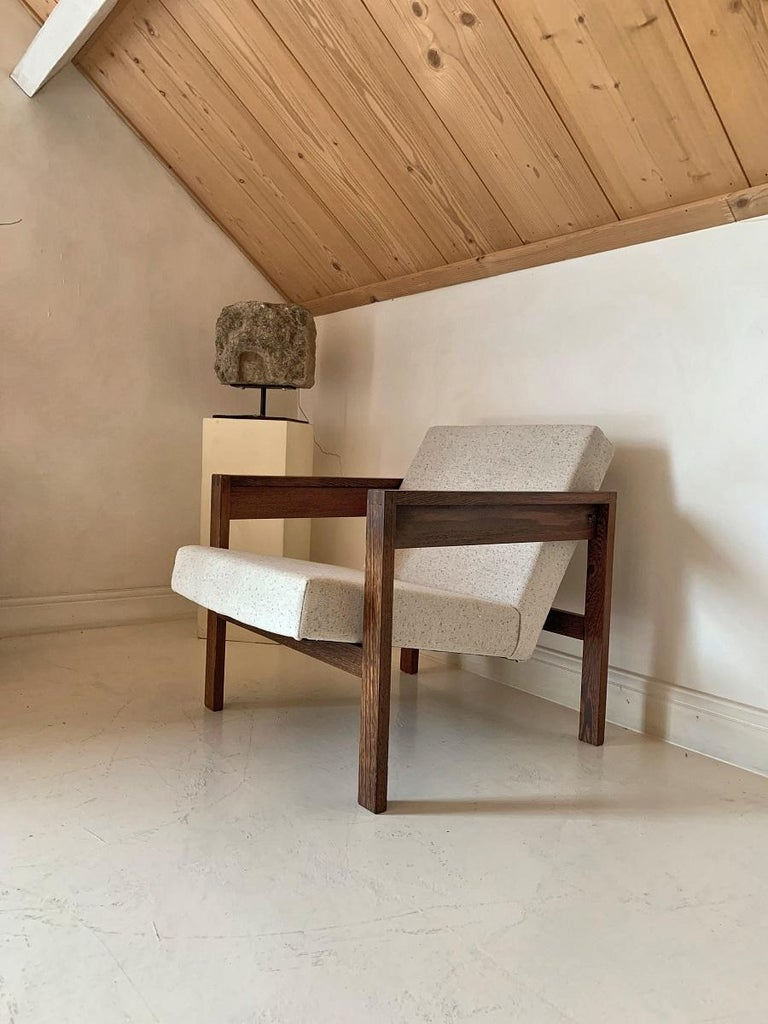 Mid-Century Modern Hein Stolle Lounge Chair, 1960s For Sale