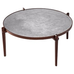 Heinz Lilienthal Coffee Table with Etched Table Top
