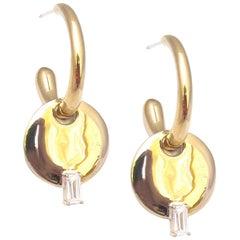 Jacqueline Rose Heirloom Drop Hoop Earring