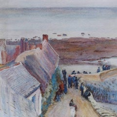 Helen Allingham 'Houses at Lynmouth', circa 1880
