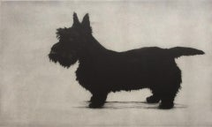 Helen Fay, Brodie Standing, Limited Edition Print, Dog Art, Affordable Art