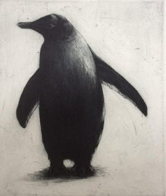 Helen Fay, What's That?, Penguin Art, Affordable Art, Limited Edition Print