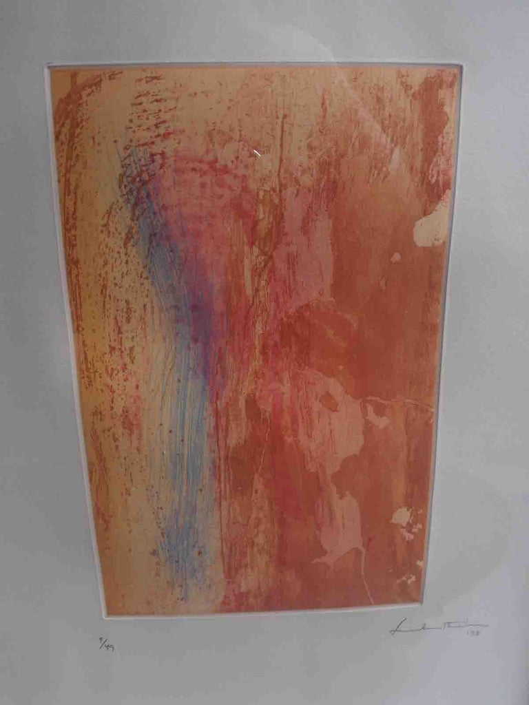 North American Helen Frankenthaler Color Etching For Sale