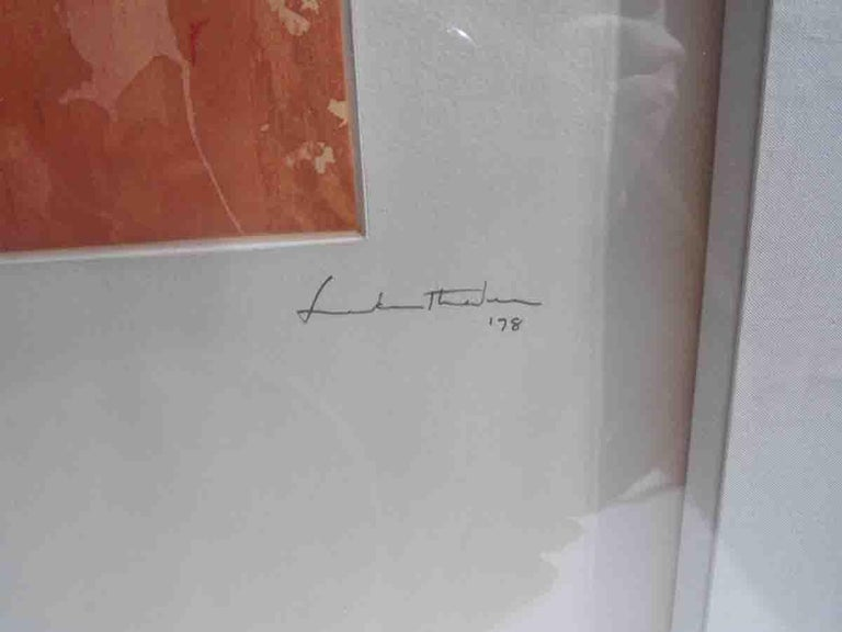 Late 20th Century Helen Frankenthaler Color Etching For Sale