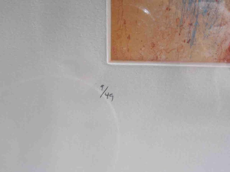 Paper Helen Frankenthaler Color Etching For Sale