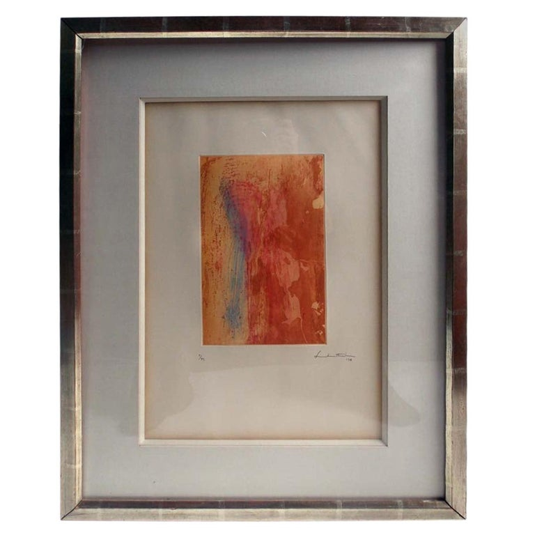 Helen Frankenthaler Color Etching For Sale