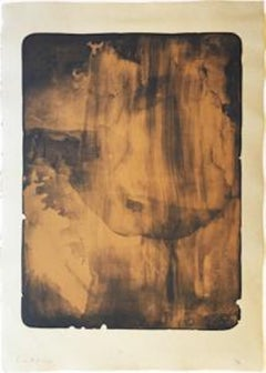 Bronze Smoke; 1978; Screenprint; 31 1/2 x 22 1/2 inches; Edition of 38