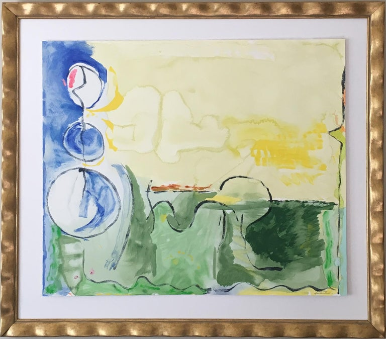 Helen Frankenthaler Abstract Print - 'Flotilla' Signed Limited Edition Print