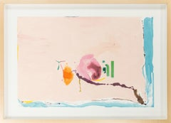 "Helen Frankenthaler, ""Flirt"", 42 Color Silkscreen, 1995, 27 of 126"